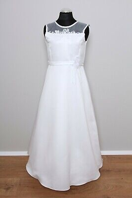 LE18 ♥ Kommunionkleid Kommunionskleid Erstkommunion Kleid inkl. Reifrock NEU