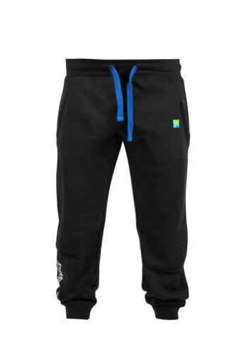 Preston NEW Innovations Black Joggers Tracksuit Bottoms All Sizes