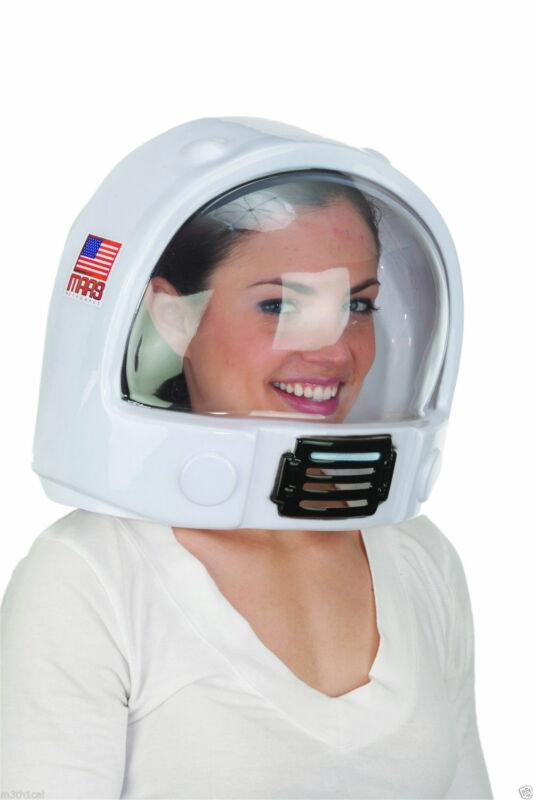 Adult Toy Space Helmet Nasa Astronaut Hat Mask Plastic Costume Accessory