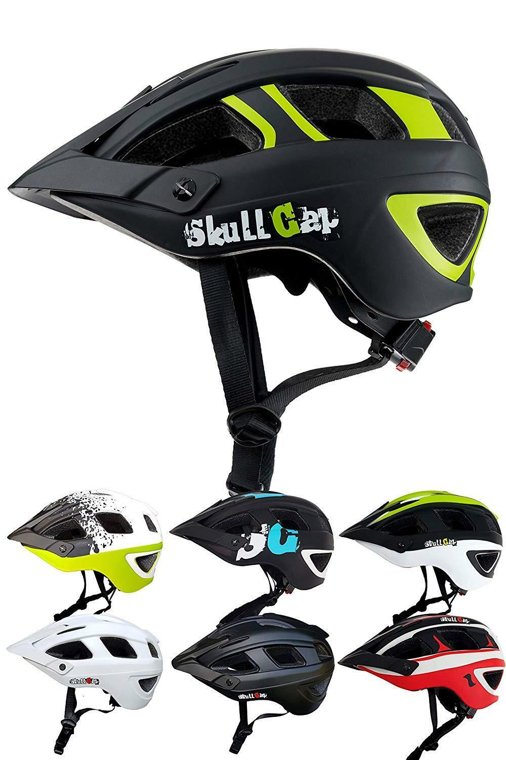 skullcap fahrradhelm mtb helm mountainbike helm herren damen visier helmschild wundr store. Black Bedroom Furniture Sets. Home Design Ideas