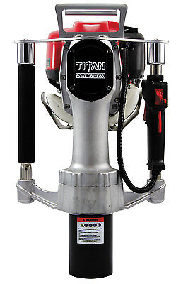 Titan Pgd3200 Post Driver Gas Powered Post Driver Honda Motor 3 14 Barrel