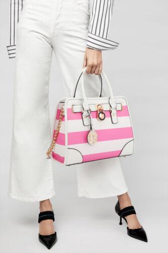 Dasein Women PU Leather Handbag Set Satchel Shoulder Purse with Matching Wallet