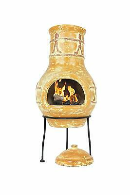La Hacienda Companero Clay Chimenea Chiminea Patio Heater