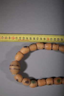 Art African Beads African Gashinghana in Molten Glass 59