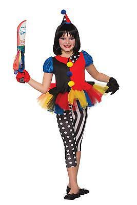 Forum Novelties Girls Evil Clown Lil Girlie Costume, Multicolor, Small