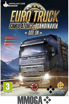 Euro Truck Simulator 2 II - Scandinavia - STEAM Code - PC Spiel Add-on DLC DE/EU (Truck Simulator Pc Spiele)