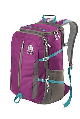 f9342cafbe14 Granite Gear Splitrock Backpack-ing Hiking Day Pack Water- Repellent Purple  Pink