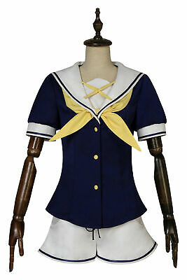 ISLAND Karen Kurutsu Uniform Outfits Anime Cosplay Costume Halloween Custom Made](Karen Halloween Costume)