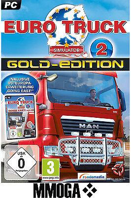 Euro Truck Simulator 2 Gold Edition Key - STEAM Code - PC Spiel ETS II [DE/EU] (Truck Simulator Pc Spiele)