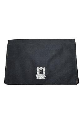 1930s Handbags and Purses Fashion VINTAGE 1920s - 1930s Black fabric flap front purse (S) $34.08 AT vintagedancer.com