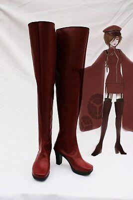 ++ Vocaloid Miku Senbon Sakura Meiko Stiefel Cosplay kostüm lolita Schuhe rot - Sakura Miku Kostüm
