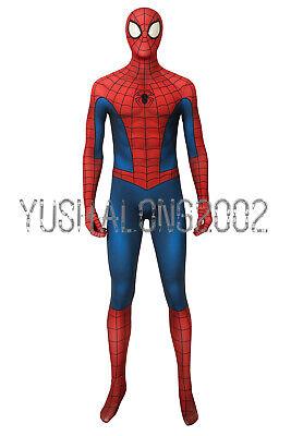 Spider-Man Marvel Miles Cosplay Kostüm Costume Outfit Halloween Film Movie ()