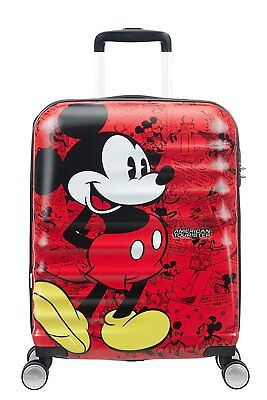 Trolley American Tourister wavebreaker disney spinner S 31C*001 mickey comics r