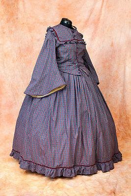 Viktorianisch Reifrock Krinoline Kleid  maßgeschneidert (Viktorianischen Kleid Kostüme Erwachsene)