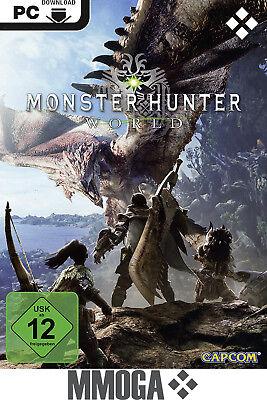 Monster Hunter: World - PC Steam Download Key - Standard Version Spiel [DE/EU]