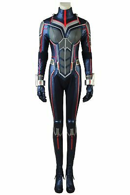 Ant-Man and the Wasp Trailer2 Cosplay Costume Hope Van Dyne Halloween Jumpsuits ](The Wasp Halloween Costume)