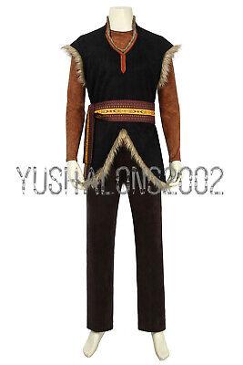 Frozen 2 Kristoff gefroren Königin II Dorfer Cosplay Kostüm Costume Film Movie