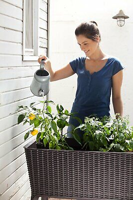 Herb Planter Box Flower Plant Stand Large Outdoor Pot Garden Patio Yard Lawn Big ()