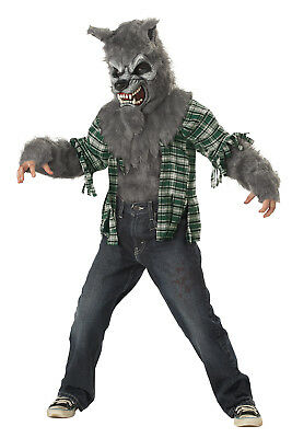 Howling At The Moon Werewolf Lycans Child Costume - Kids Moon Costume