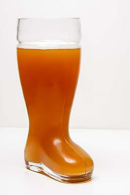 Das Boot Boot Beer Glass Extra Large  2 Liter 67 Oz High Quality Clear Beer Mug