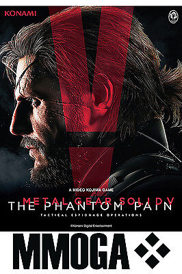 Metal Gear Solid V The Phantom Pain - PC Game Key- STEAM Code MGS 5 Neu [DE][EU] ()
