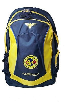 Club America Team Logo Backpack Adult Size, Authentic Product, Rugged crafted Club America Backpack