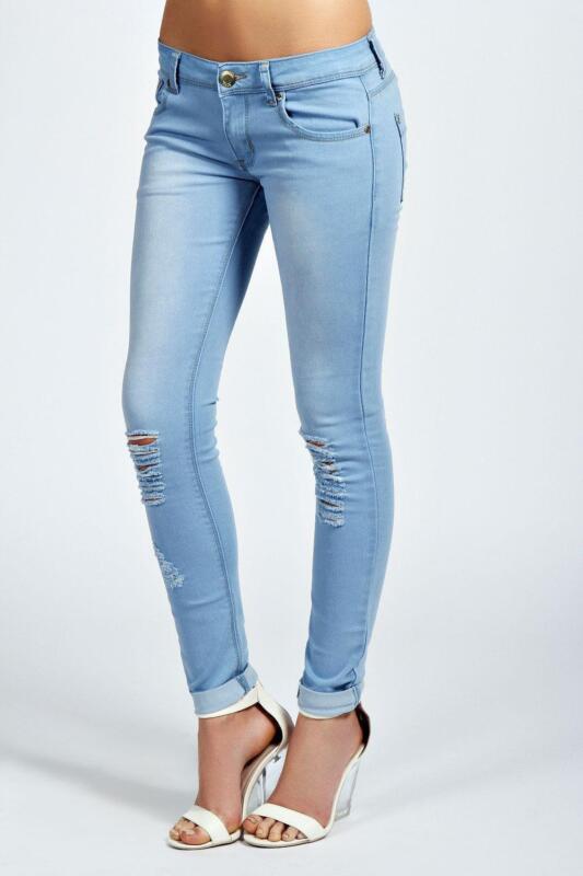 Bleached Skinny Jeans | eBay