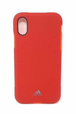 Adidas Solo Series Hybrid Hard Case for Apple iPhone X and iPhone Xs (New)- Pink