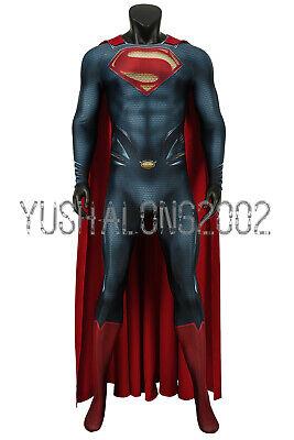 Man of Steel Superman Kal-El Clark Kent Cosplay Kostüm Costume bodysuit zentai ()