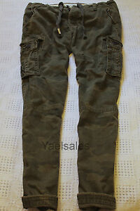 Abercrombie Mens Cargo Shorts