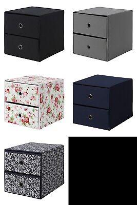 Ikea Flarra Mini storage chest with 2 drawers for Kallax Expedit unit Mini Storage Unit