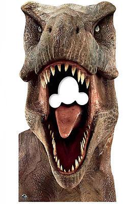 Tyrannosaurus Rex Offiziell Jura-Welt Ständer in Lebensechte Größe Pappfigur ()