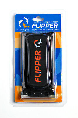 Flipper Standard Magnetic Algae Cleaner For Glass or Acrylic Aquarium -
