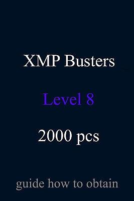 XMP Bursters L8 2000 pcs