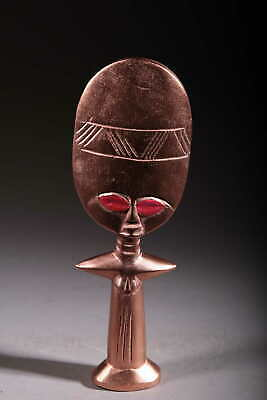 Art Contemporary African Doll Ashanti Copper 122