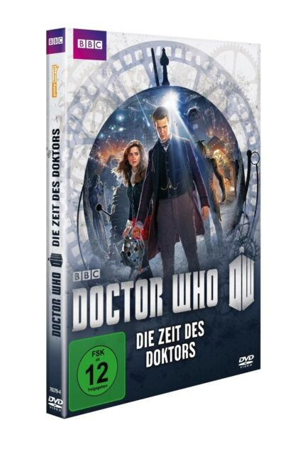 MATT/COLEMAN,JENNA SMITH - DOCTOR WHO - DIE ZEIT DES DOKTORS  DVD NEU