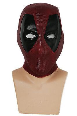 Halloween Full Movies (Deadpool Helmet Movie Halloween Cosplay Mask Full Head Latex Mask Cos Prop)