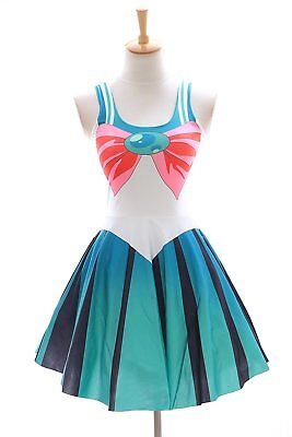 SK-09 Gr. S-M  Sailor Moon Jupiter Grün Kleid dress Cosplay Manga Kostüm Anime