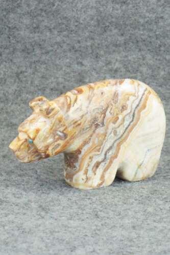 Bear Zuni Fetish Carving - Reynold Lunasee