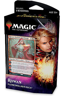 Magic the Gathering Eldraine, Rowan Planeswalker Deck, 2 Boosters, Sealed, New