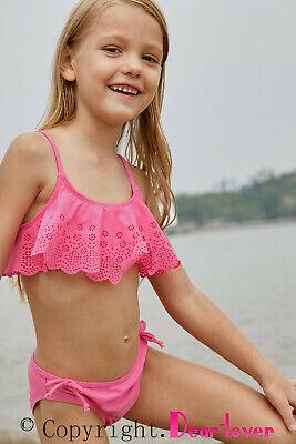 Dear Lover Mädchen Bikini, rosa, Gr M ( 5 Jahre)