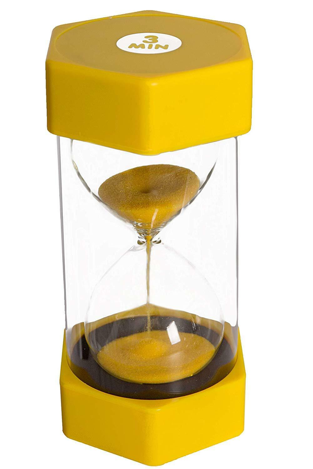 Set of 5 Tink n Stink Large Egg Hourglass Sand Timers-30s to 60-Mins Autism SEN