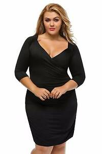 Business formal black sexy plus size dress size 20-22 Cornubia Logan Area Preview