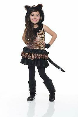 Tigress Wild Cat Tiger Animal Girl Fancy Dress - Wild Tigress Kostüm