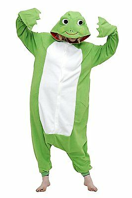 Original Cosplay Costumes (Original Animals Frog KAERU Cosplay Costumes Kigurumi Pajama)