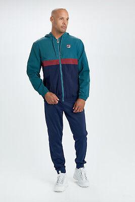 FILA® Vintage Tate Zip Jacket/Atlantic Deep - Medium SALE SRP £70.00 Atlantic Zip Jacket