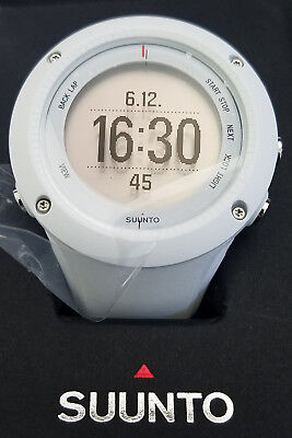 Suunto Men's Ambit2 White Rubber Quartz Watch SS020658000 - Retail $299 (48%off)
