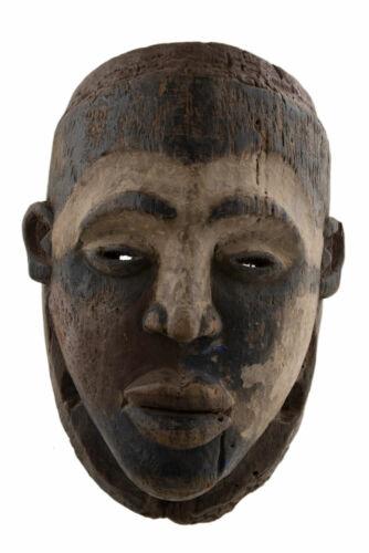 Antique Mask African Kongo Bakongo Ritual DRC Fetish Art Ethnic 17134
