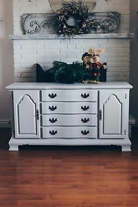 Icey Grey Chalk-Finished, Lexington Sideboard  Oakville / Halton Region Toronto (GTA) image 1