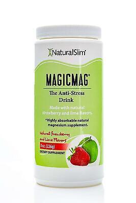 Relaxslim Bebida Puro Citrato De Magnesio En Polvo Anti Estres Duerme Mejor Help